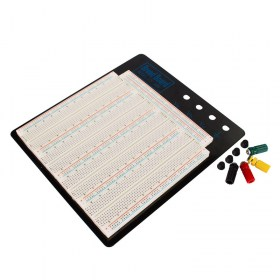 Solderless-Breadboard-MB-102-Big-size-Black-Aluminum-Board-ZY-208-for-Test-Circuit-20-29AWG-1